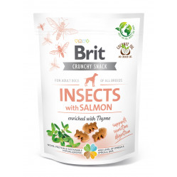 BRIT CARE DOG CRACKER INSECT&SALMON 200g