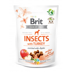 BRIT CARE DOG CRACKER INSECT&TURKEY 200g