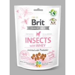 BRIT CARE DOG CRACKER PUPPY INSECT 200g
